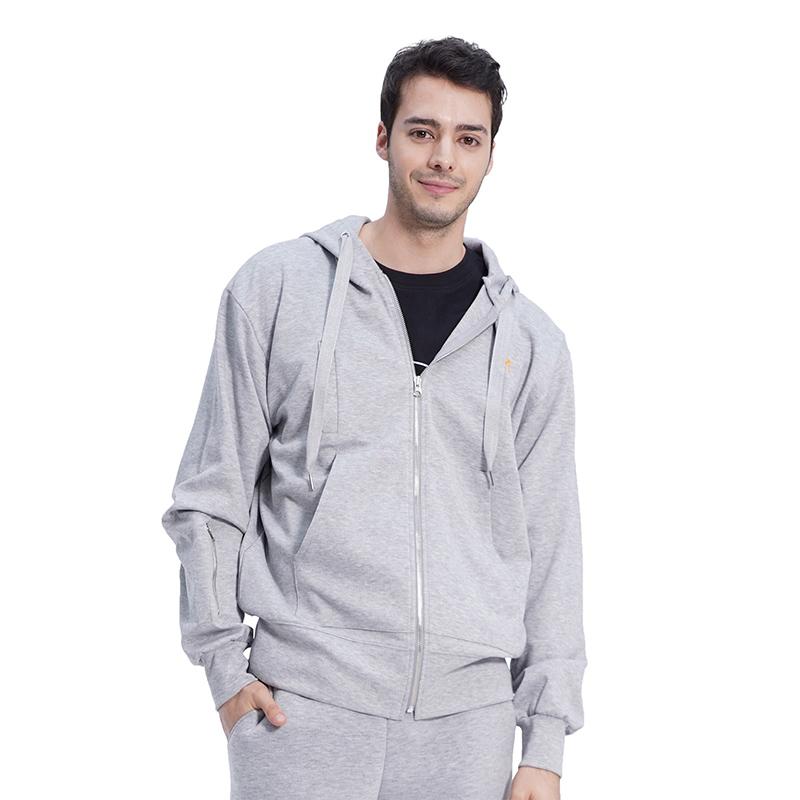 (UNISEX) Royal M Pocket Hood (GREY)