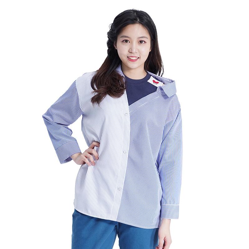 [신학기특가]Lovely M Stripe Shirts (BLUE)