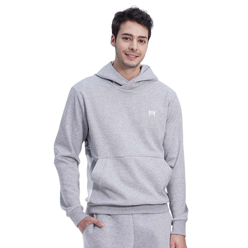 (UNISEX) Royal M Color Hood (GREY)