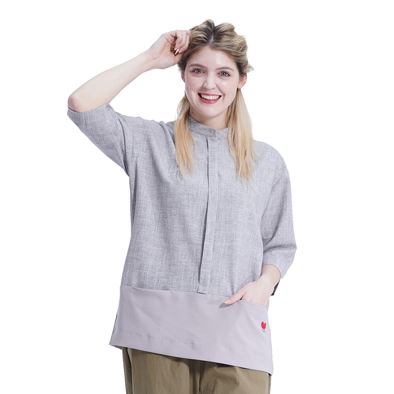 Combi Pocket Shirts (GREY)