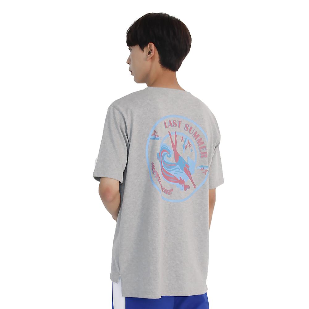 (UNISEX) Last summer Short Sleeve T-Shirt (GREY)