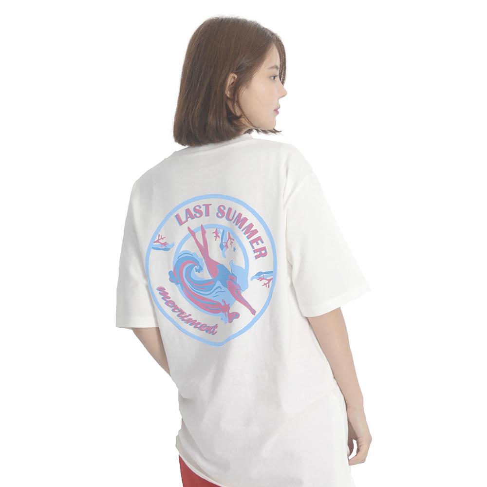 (UNISEX) Last summer Short Sleeve T-Shirt (WHITE)