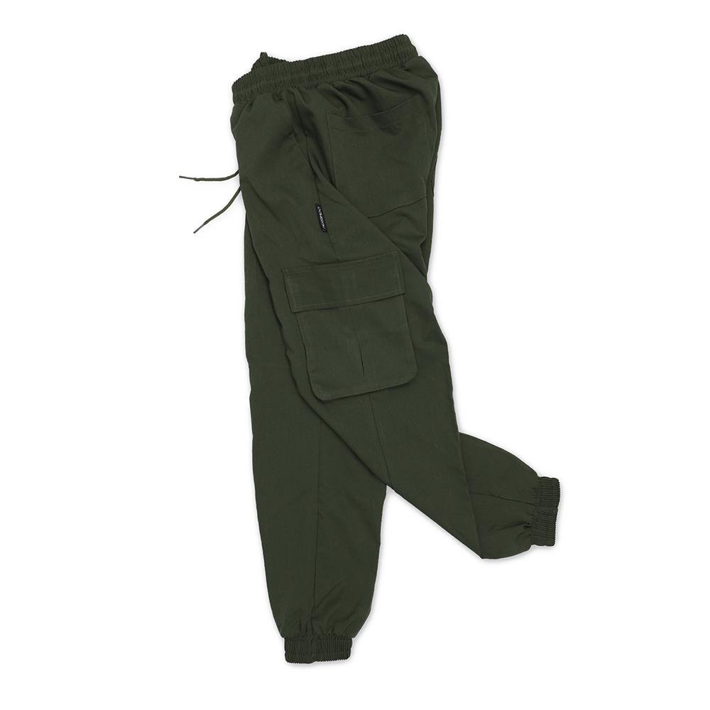 (UNISEX) M Royal Cargo-Jogger Pants (KAHKI)