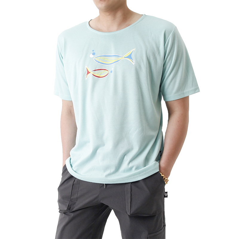 Grand Casting the Fish Short Sleeve T (MINT)