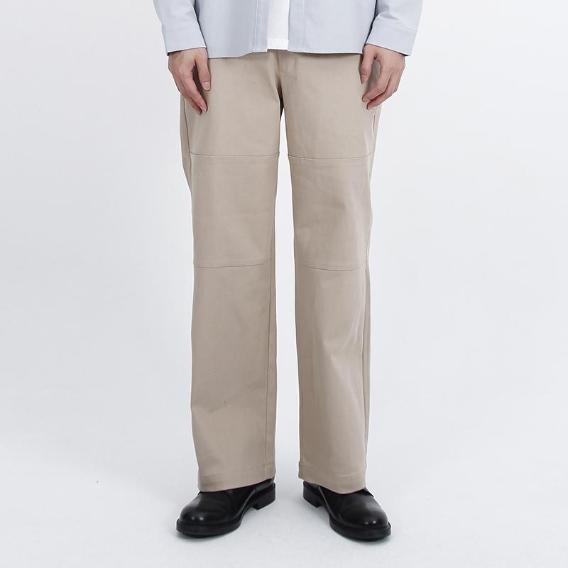 (UNISEX)Pista Span Pants(BEIGE)