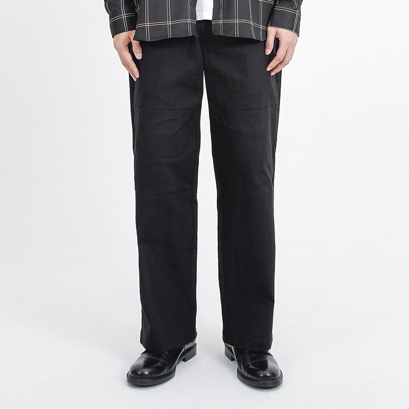 (UNISEX)Pista Span Pants(BLACK)
