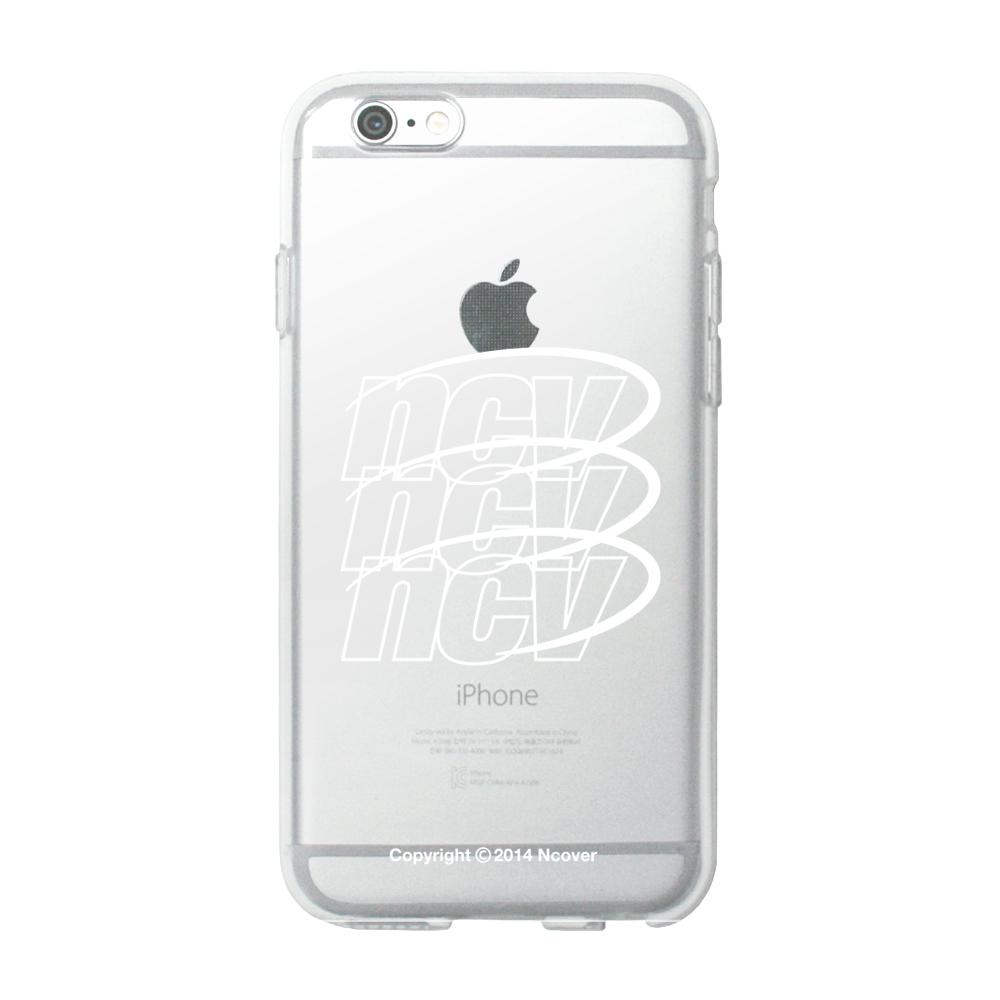 Triple ncv logo case-white(jelly case)