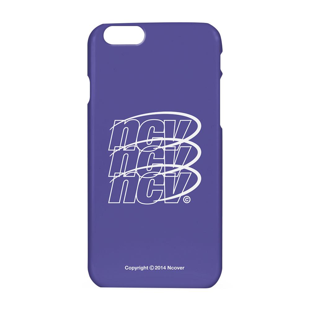 Triple NCV logo case-purple