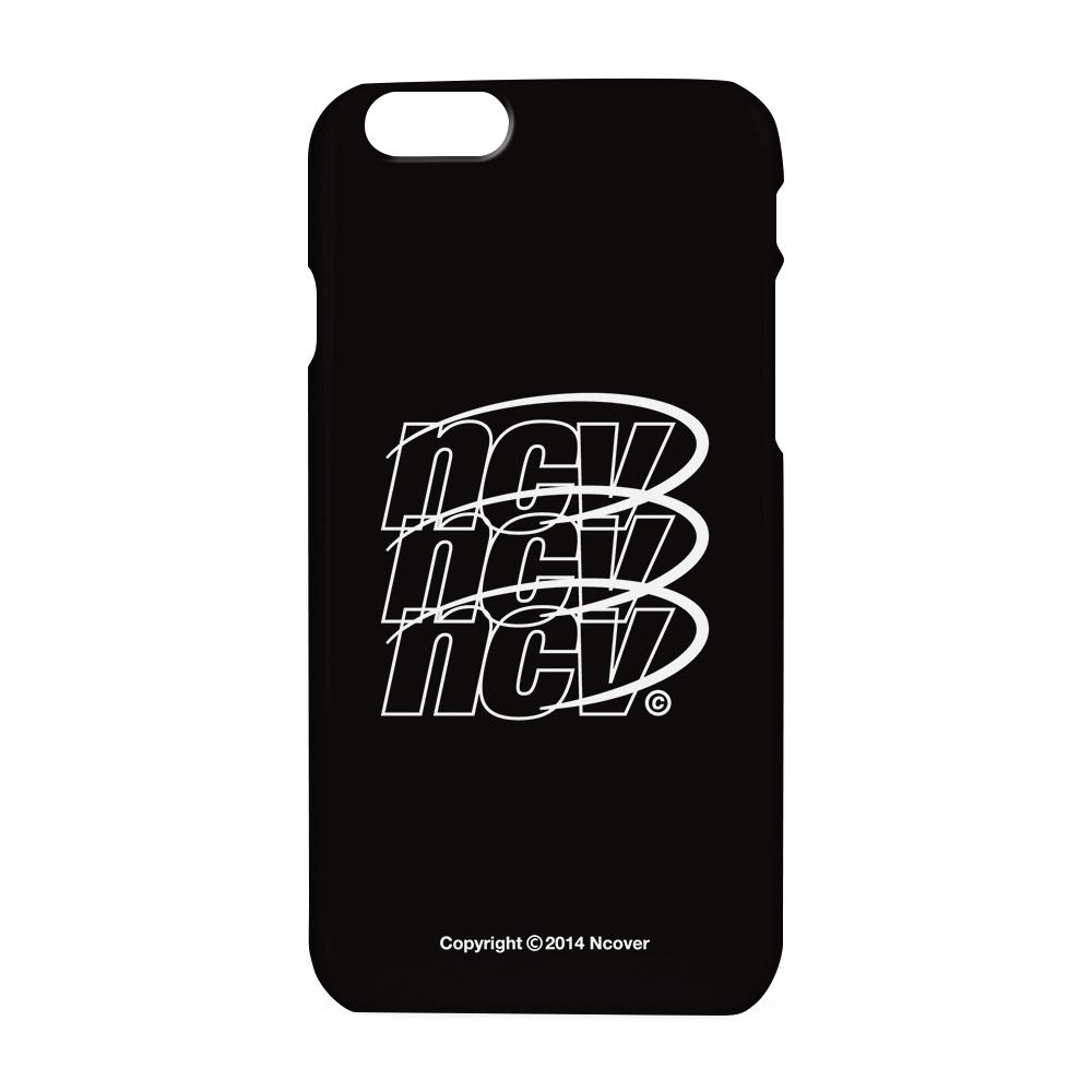 Triple NCV logo case-black