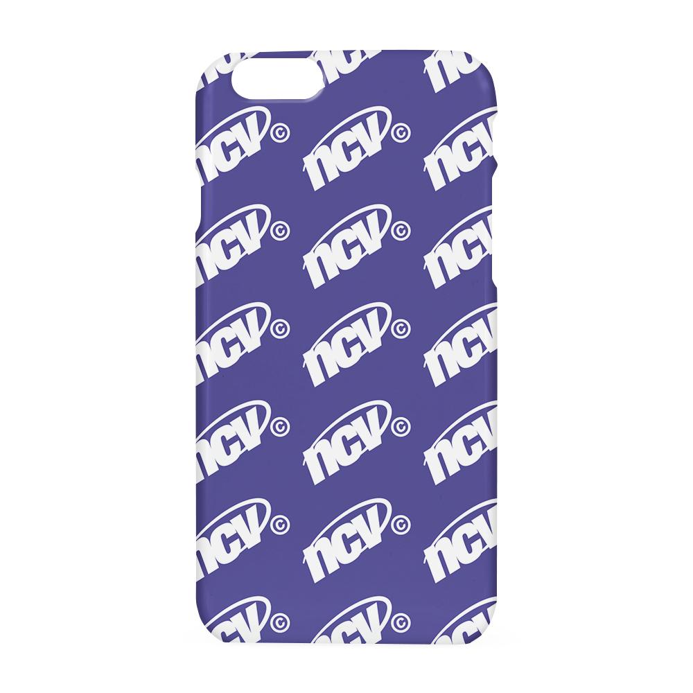 Ncv logo dot case-purple