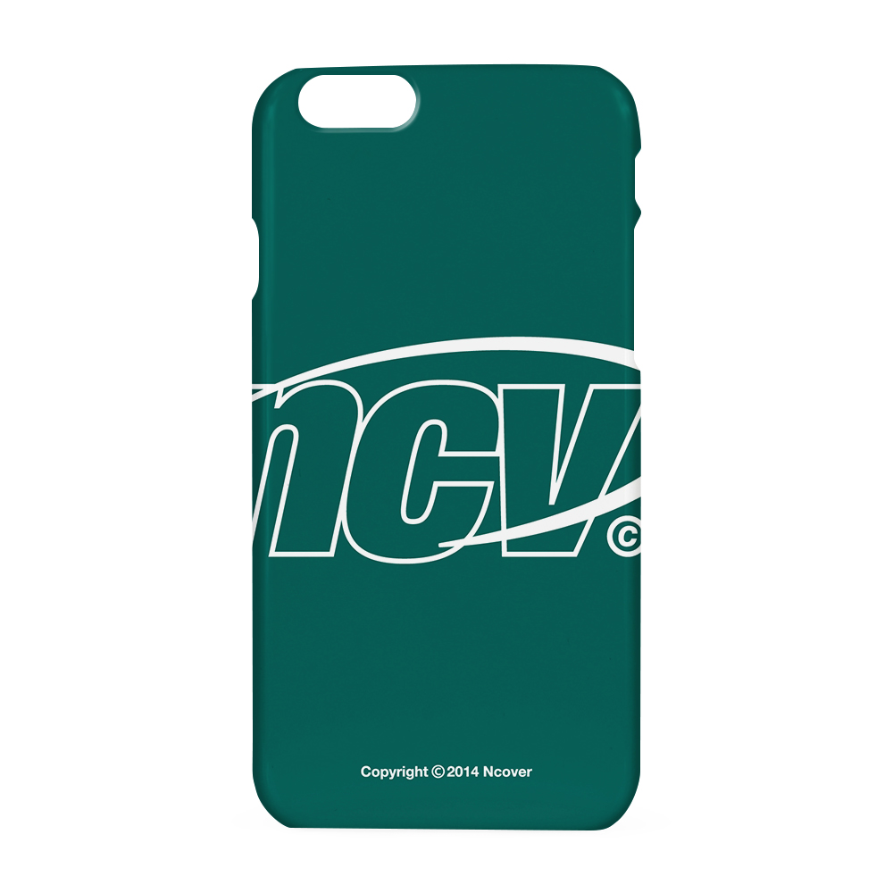 Big NCV logo case-emerald