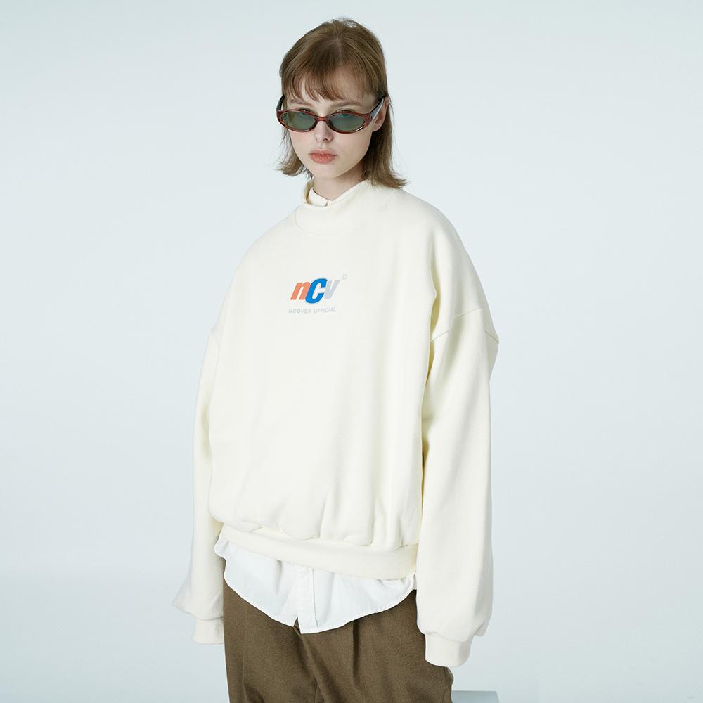 [단독할인]Crewneck ncv sweatshirt-ivory