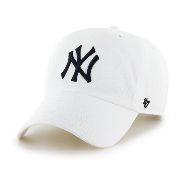 [해외]47브랜드뉴욕 양키즈 클린업 화이트 B-RGW17GWS-WHA