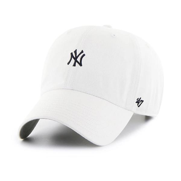 [해외]47브랜드 뉴욕 양키즈 베이스러너 B-BSRNR17GWS-WH