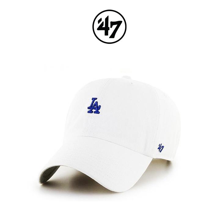[국내배송]47브랜드 볼캡 모자 LA다저스 화이트(WHA)