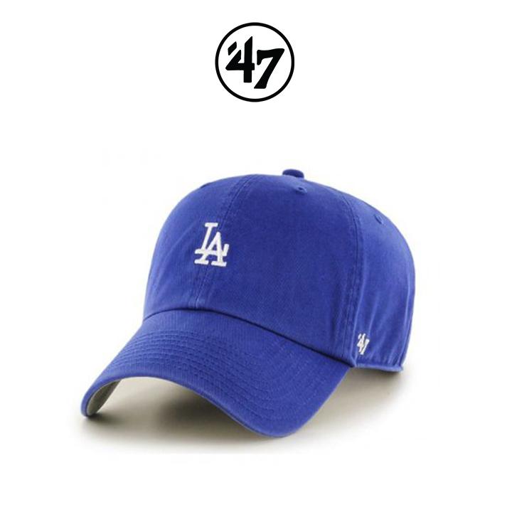 [국내배송]47브랜드 볼캡 모자 LA다저스 블루(RYA)