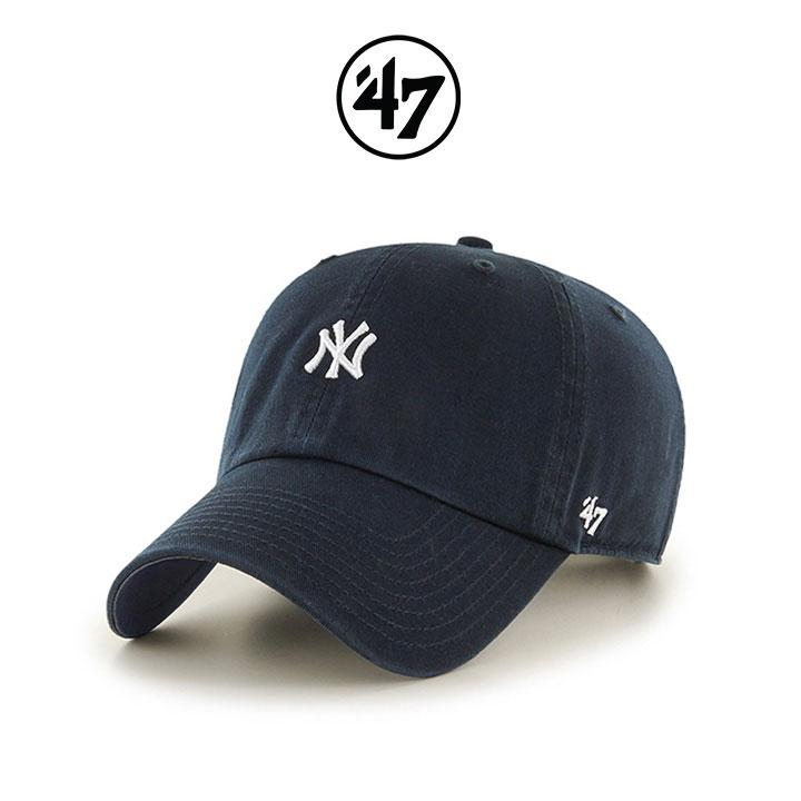 [국내배송]47브랜드 볼캡 모자 NY양키스 네이비(NY)