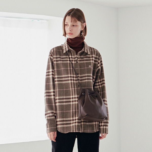 PITCH PLAID SH_BROWN