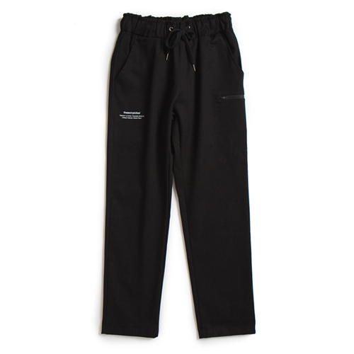 TVC COTTON BANDING PANTS (BLACK)