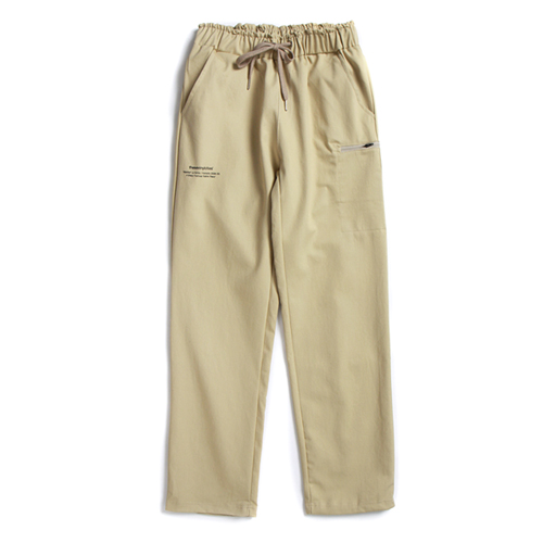 TVC COTTON BANDING PANTS (BEIGE)
