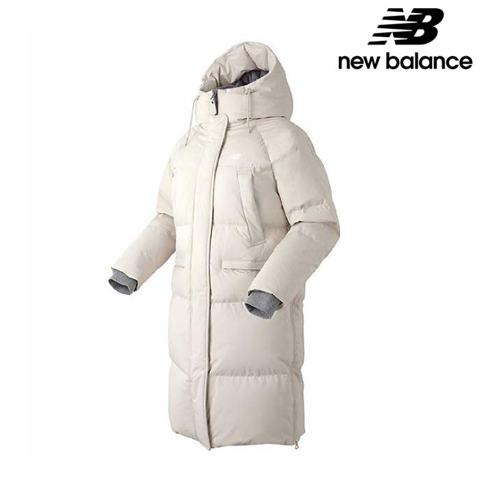 뉴발란스 NBNP84W022-CM 여성 연아 코쿤핏 구스 롱다운 패딩 자켓