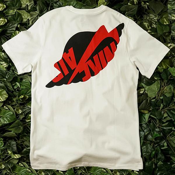 [해외]나이키 조던 매쉬업 WINGS 클래식 티셔츠 화이트