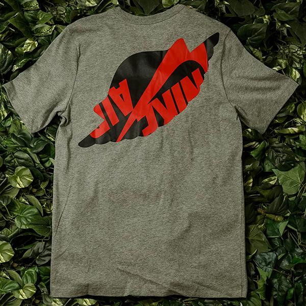 [해외]나이키 조던 매쉬업 WINGS 클래식 티셔츠 그레이