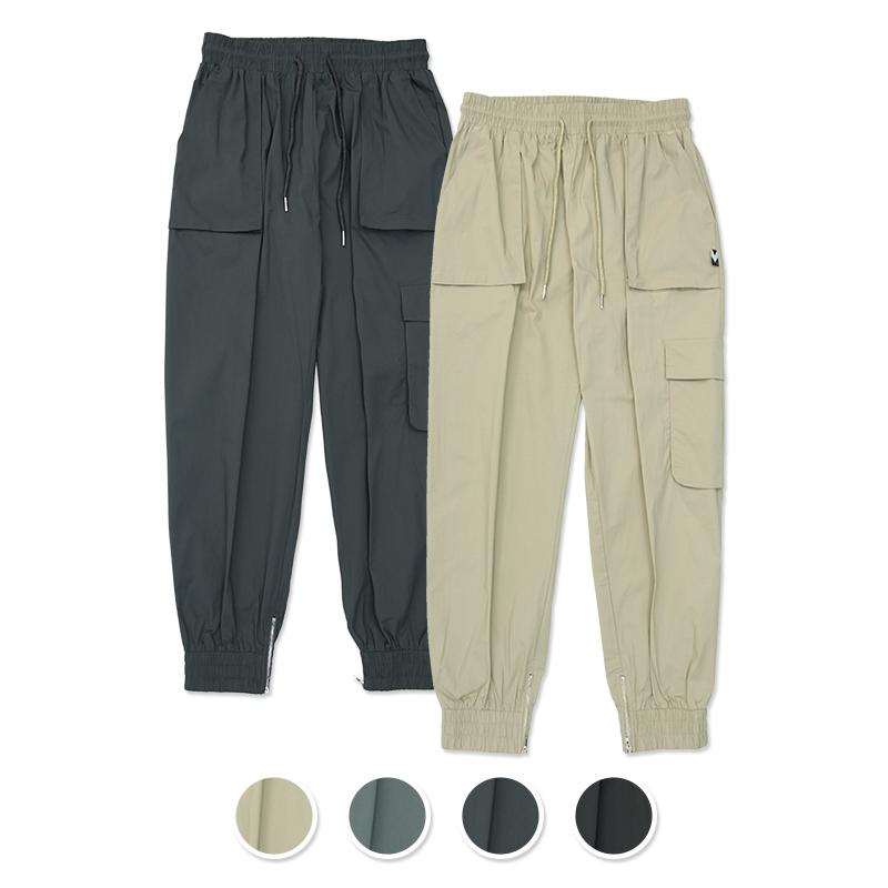 [패키지] Mild Easy Zip-up Cargo-Jogger Pants 2Pack