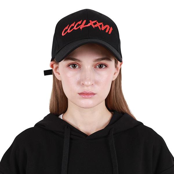 [377] HARDER LINE CAP BLACK/RED