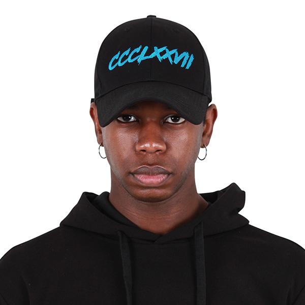 [377] HARDER LINE CAP BLACK/BLUE