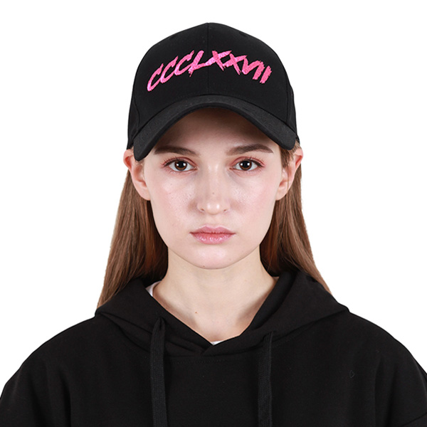 [377] HARDER LINE CAP BLACK/PINK