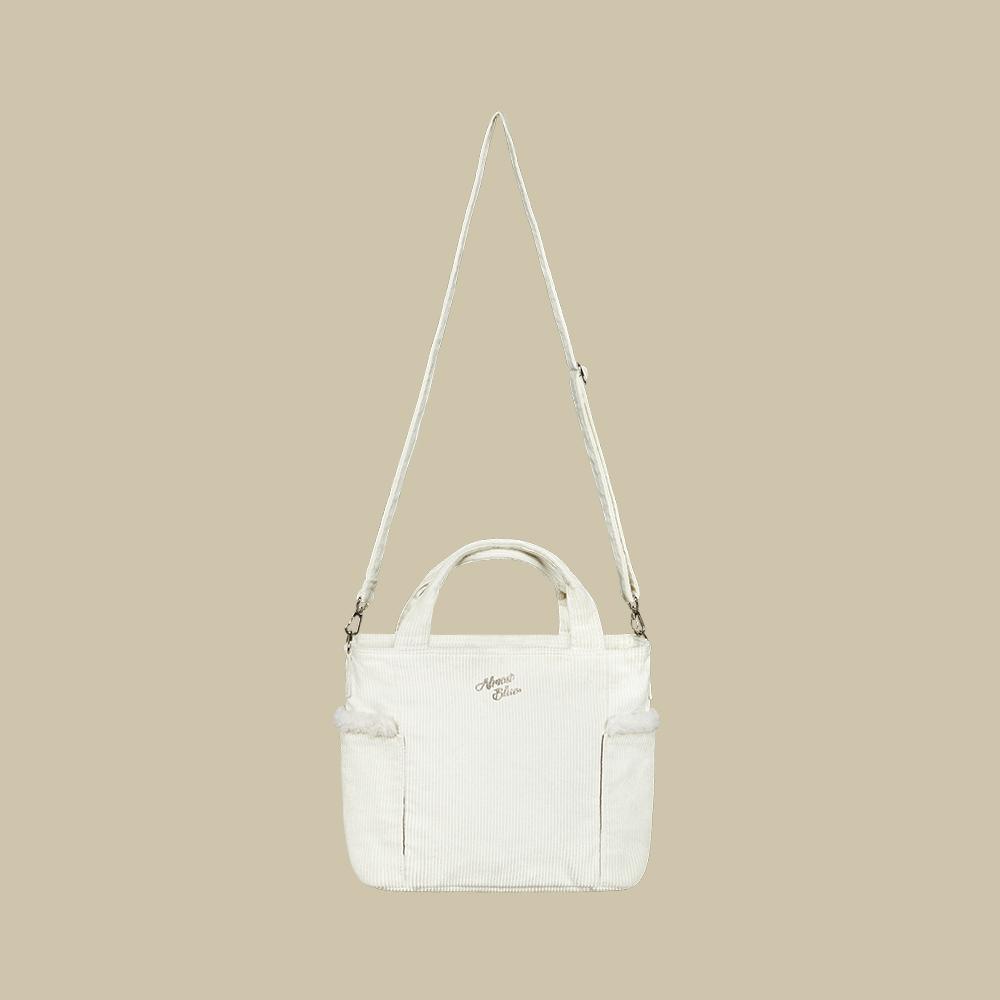 [이달의 소녀 비비 착용]CORDUROY CLOUD BAG