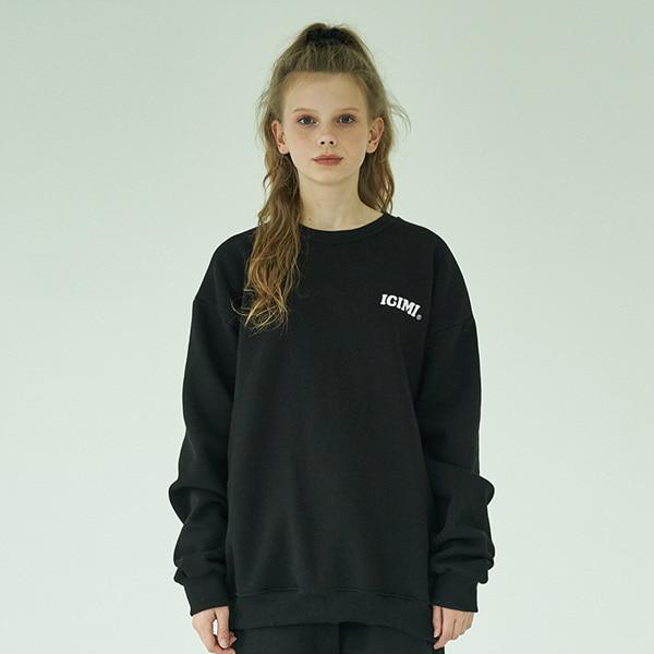 19 Basic Logo Sweatshirts_Black