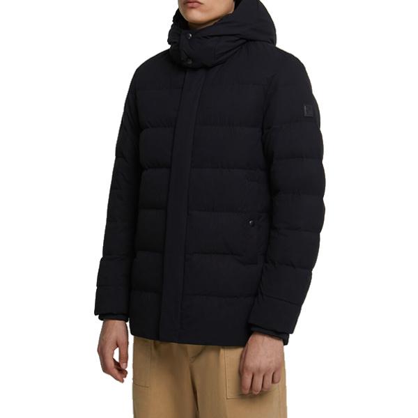 울리치 시에라 SIERRA 후드 다운 자켓  WQ0007 BLACK