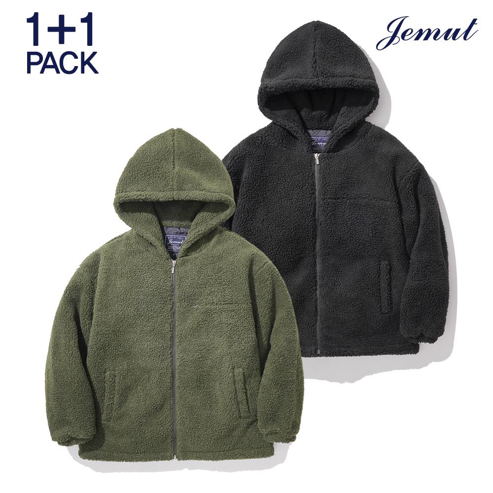 [제멋] [패키지] 모스트 양털 후드 자켓 1+1패키지 JMOT2262