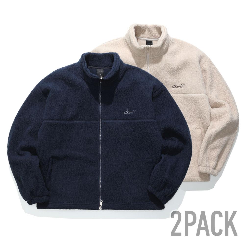 [11/30까지할인][기획특가] [패키지] 웜플랜 양털자켓 2pack STOT6562