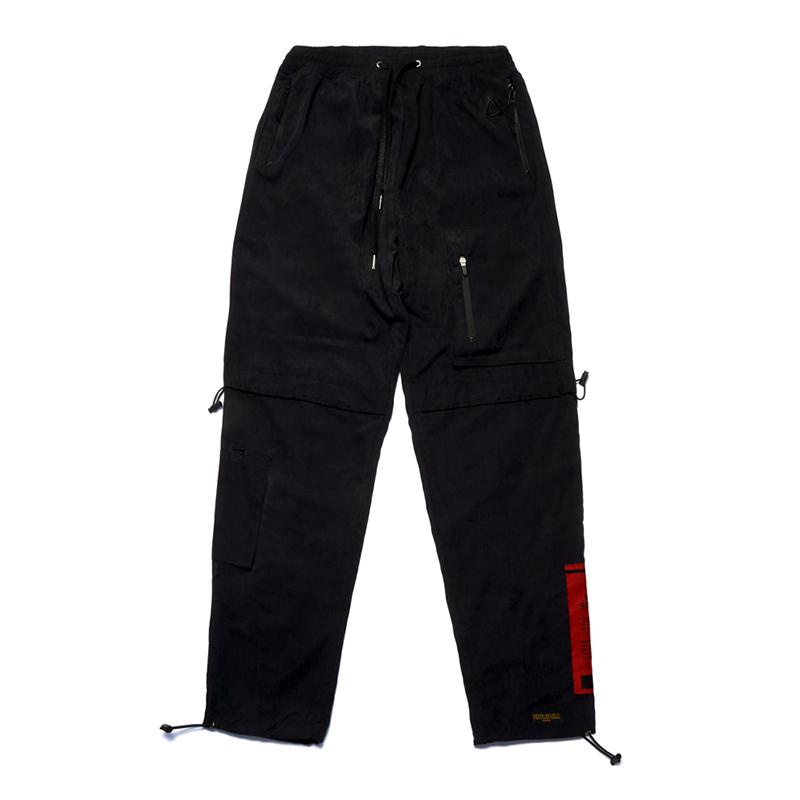 STIGMA WASHED TECH JOGGER PANTS BLACK