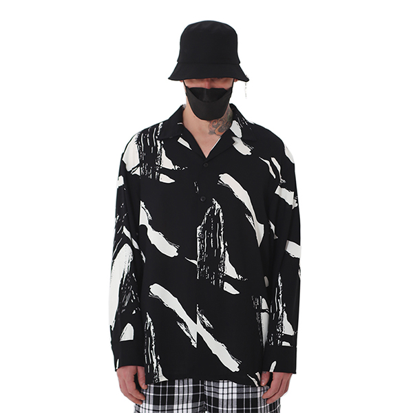[단독벨트증정] ROCKPSYCHO 2019 FW FLEX Shirt-02/ 락사이코 플렉스 셔츠-02