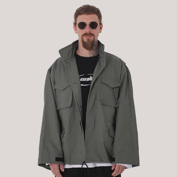 [단독벨트증정] ROCKPSYCHO 2019 FW M65 Field Jacket- Khaki / 락사이코 가을신상 m65 야상자켓-카키