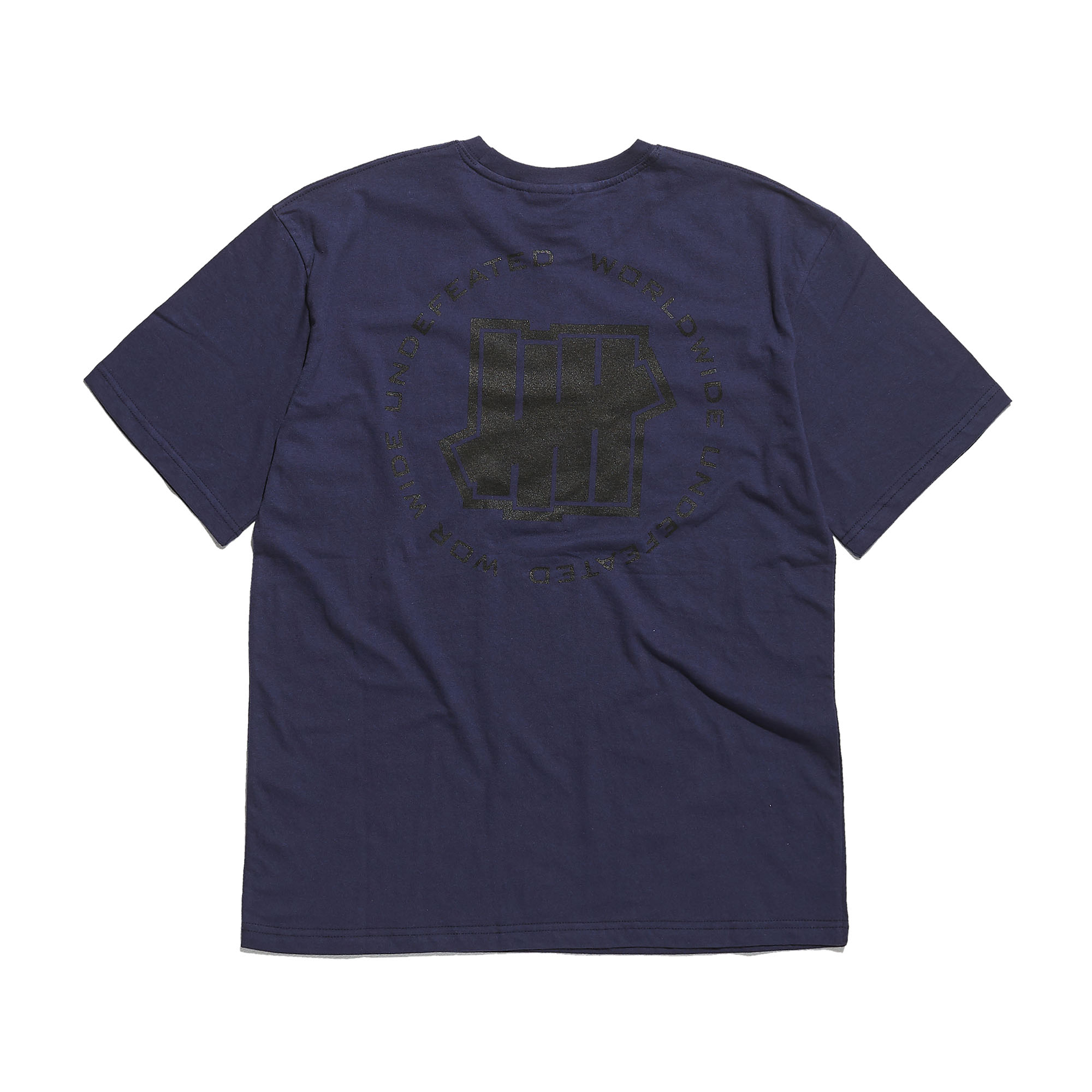 WORLDWIDE LOGO TEE navy