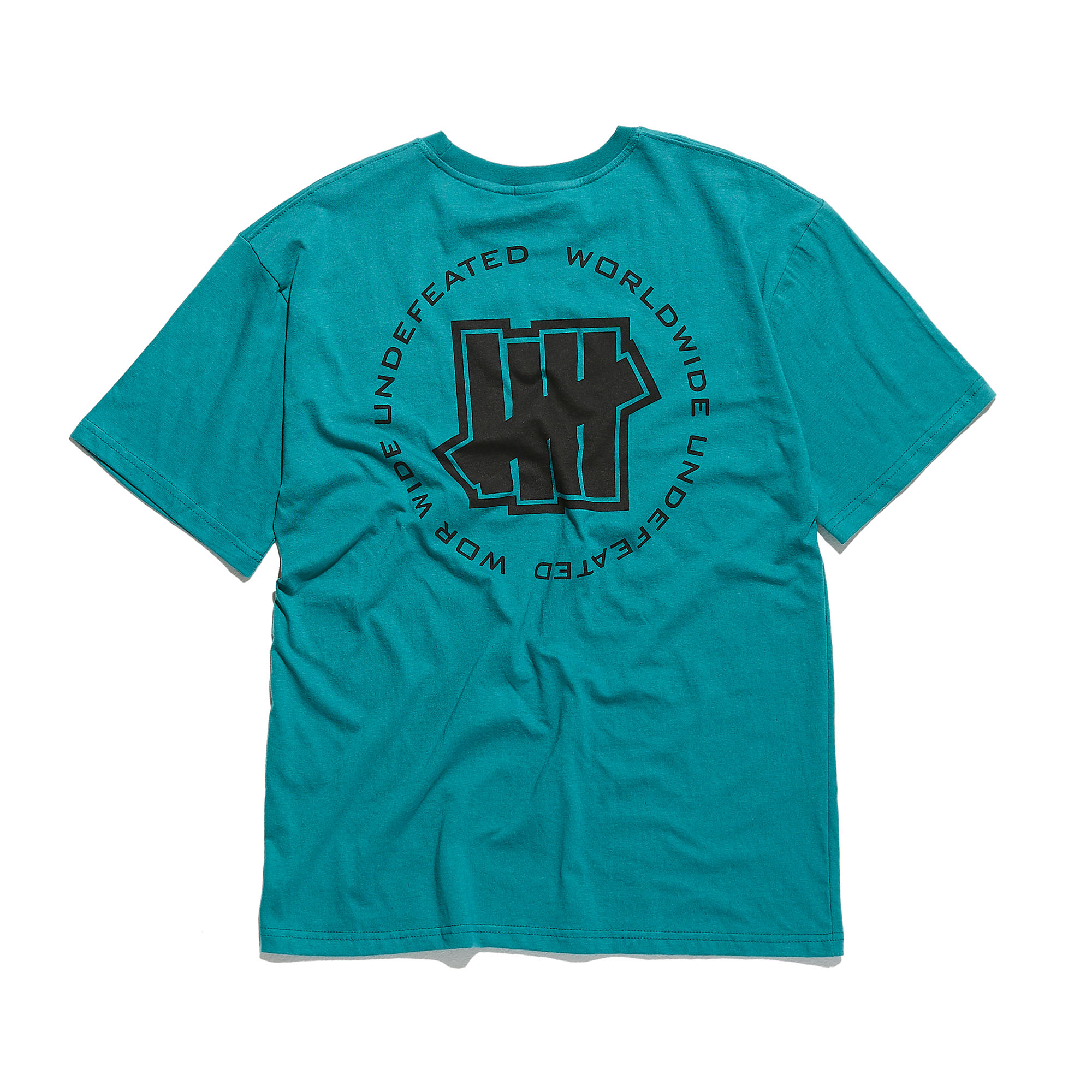 WORLDWIDE LOGO TEE teal