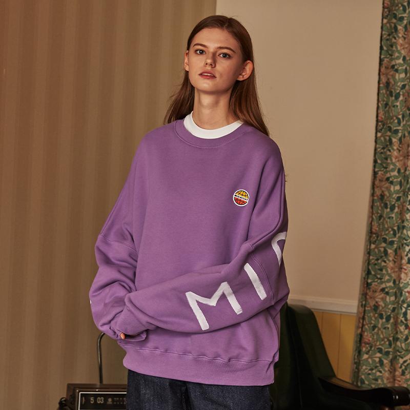 [unisex] lable mtm (purple)