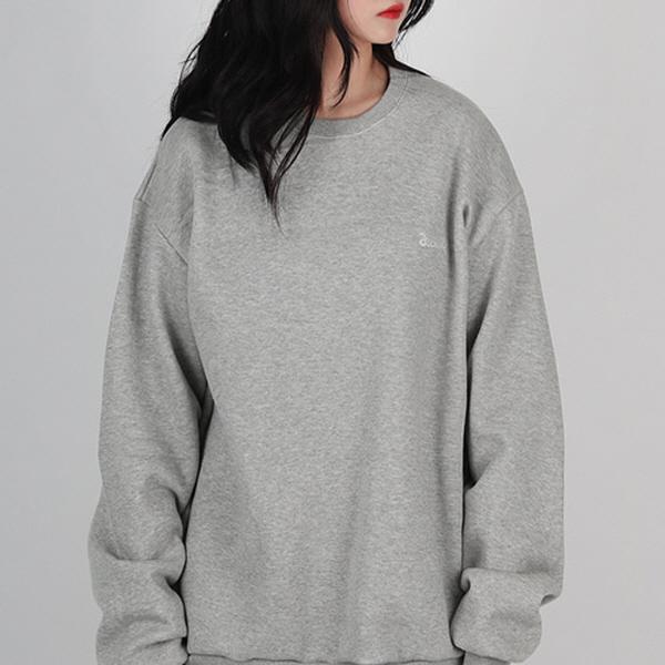 [디컬트]자수 logo - MTM(gray )
