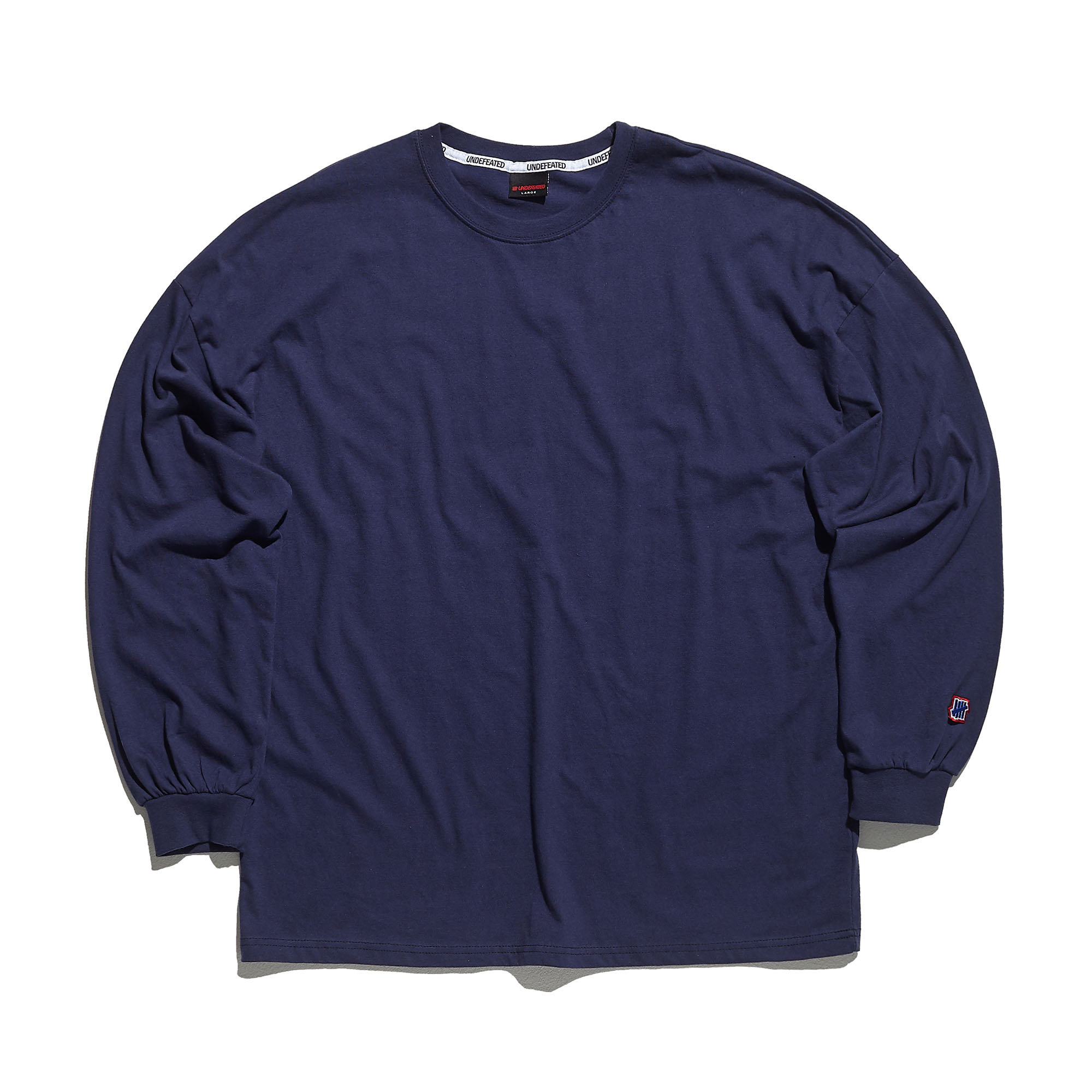COLOR MINI LOGO LONG SLEEVE 2 navy