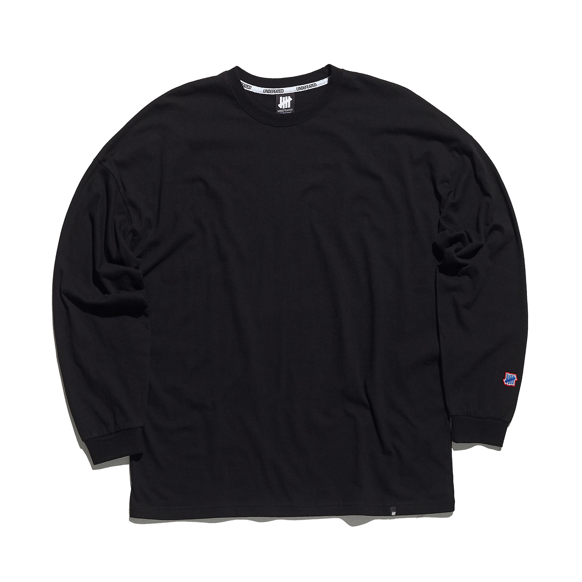COLOR MINI LOGO LONG SLEEVE 2 black