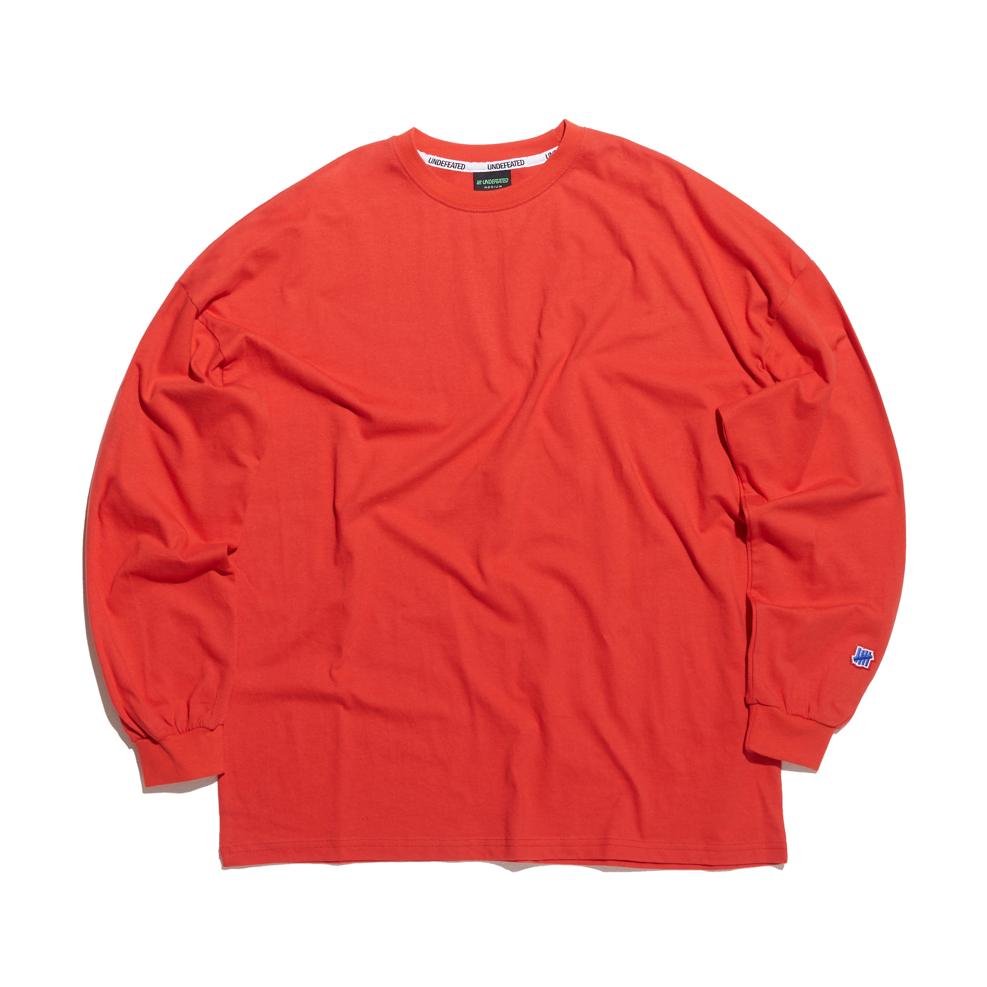 COLOR MINI LOGO LONG SLEEVE 2 red