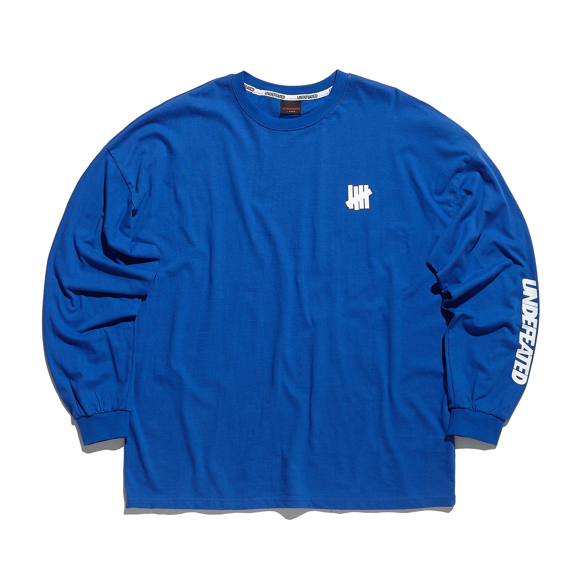 U-LOGO LONG SLEEVE blue
