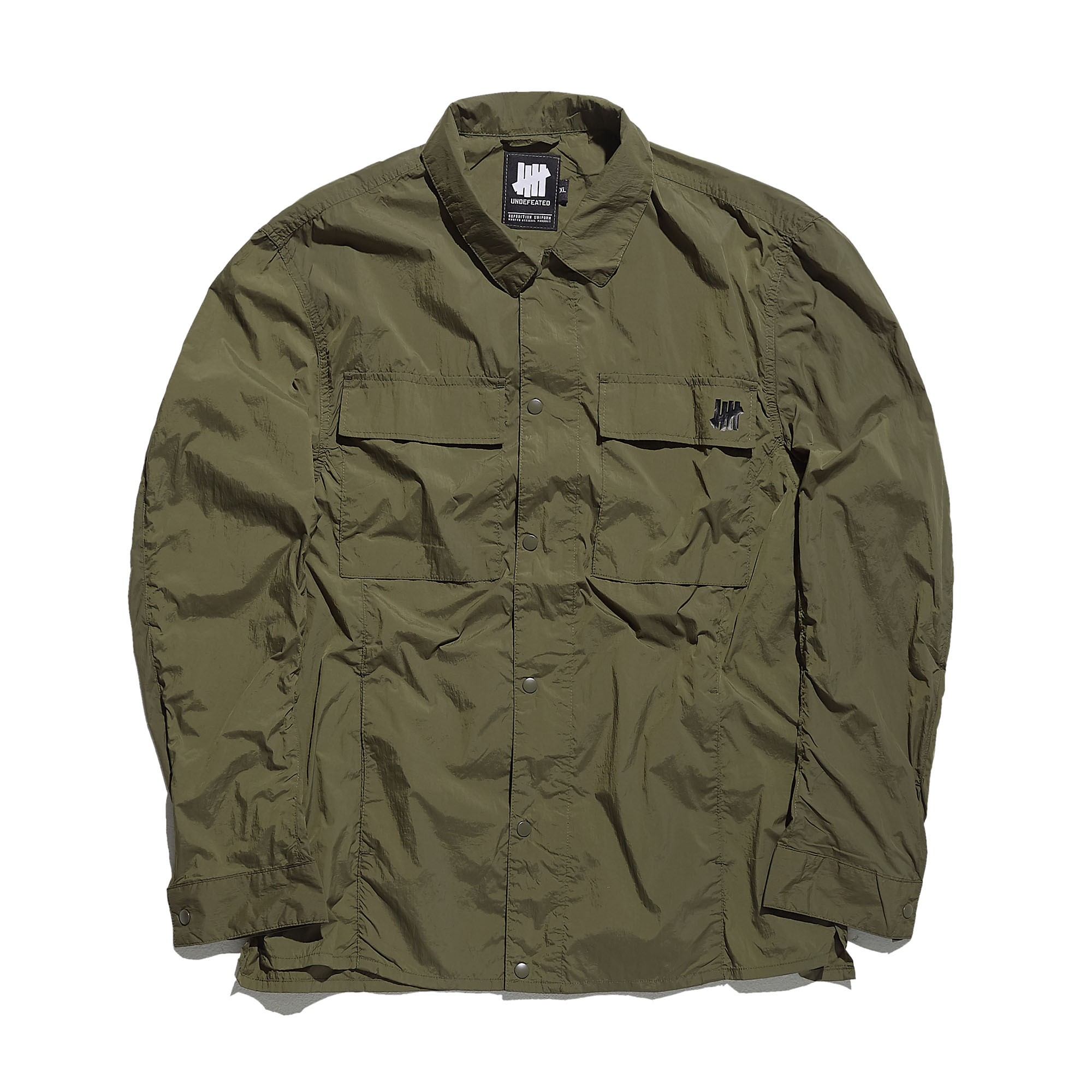 SUPERNOVA WINDBREAKER SHIRTS khaki