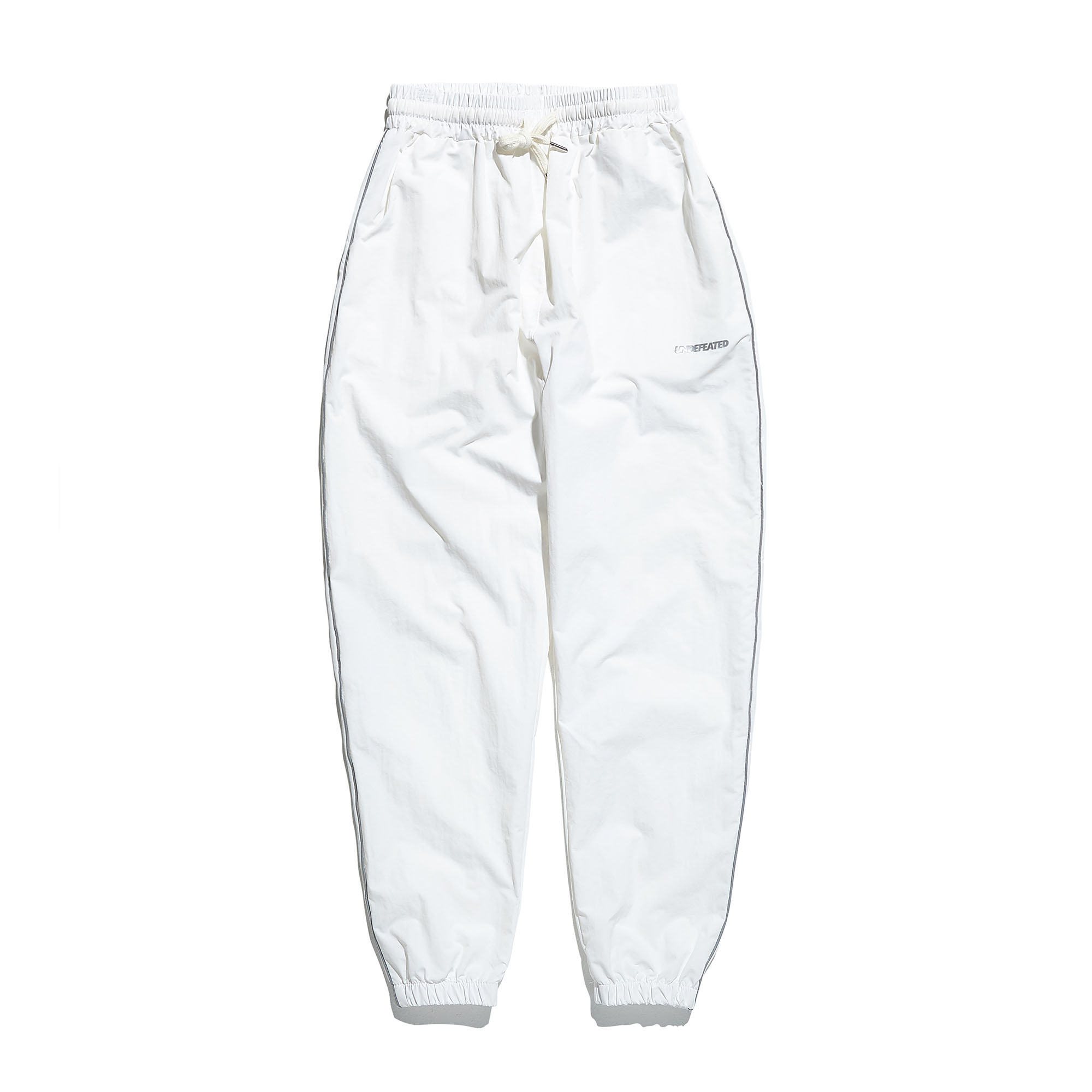 3M PIPING TRACK PANTS white