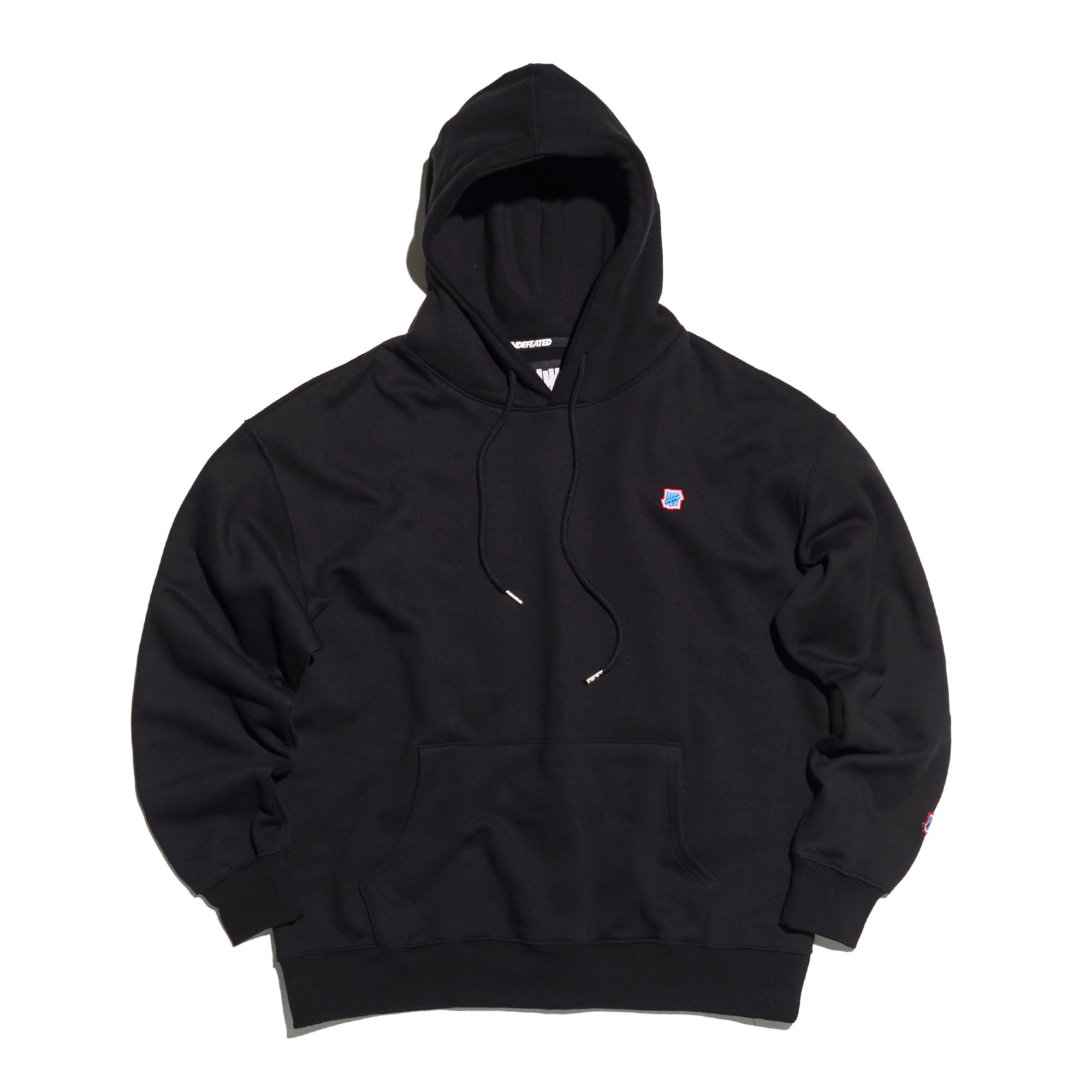 COLOR MINI LOGO HOODIE black